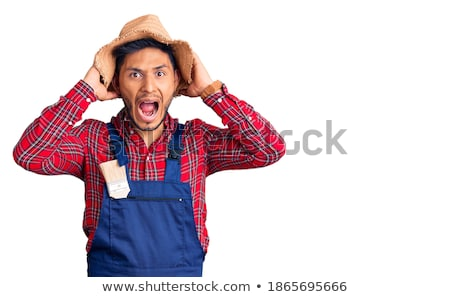 Scared handyman Stock photo © photography33