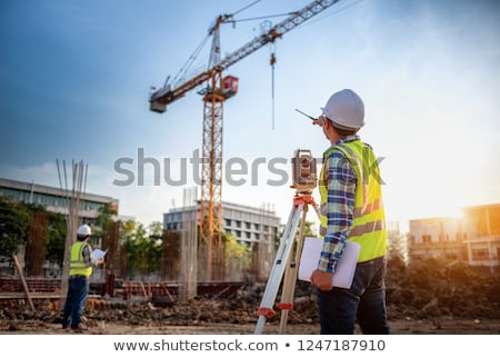 Builder on site Stock photo © photography33