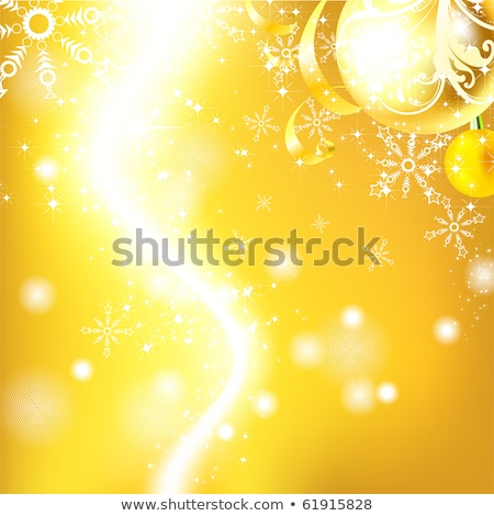 Stock photo: Christmas background with baubles. EPS 8