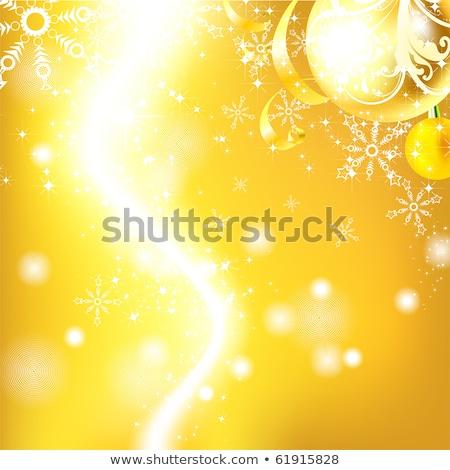 mooie · christmas · bal · illustratie · eps · retro - stockfoto © beholdereye