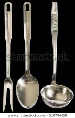 Paslanmaz kepçe büyük çorba yalıtılmış Stok fotoğraf © caimacanul