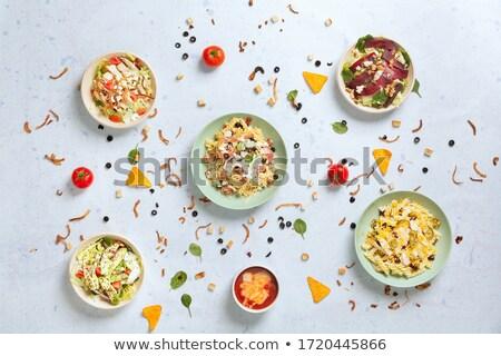 farklı · biber · gıda · mutfak · beyaz · pişirme - stok fotoğraf © vetdoctor