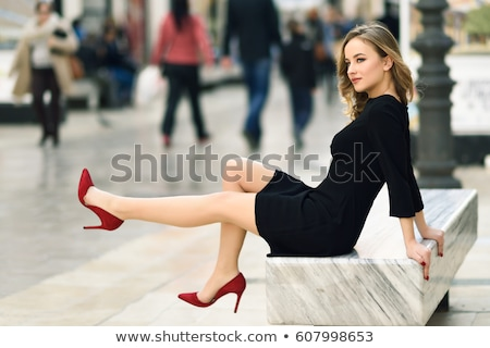 long legs and red high heels stock photo © rtimages