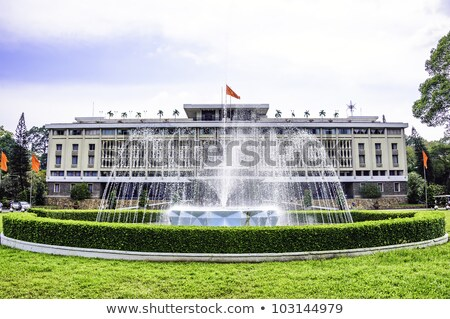 reunification palace ho chi minh city saigon vietnam Stock photo © travelphotography