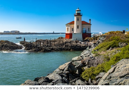 Coquille River Lighthouse Stock photo © cboswell