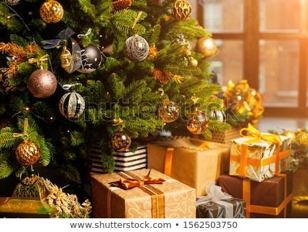 Рождества · рождественская · елка · Новый · год · праздник · подарки - Сток-фото © artush