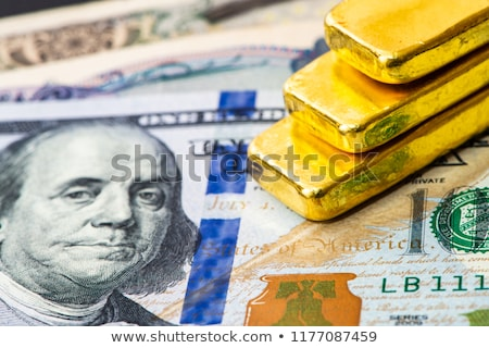 Federaal reserve goud een business abstract Stockfoto © SVitekD