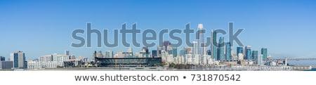 Photo stock: Centre-ville · San · Francisco · plage · pont · bâtiments · Skyline