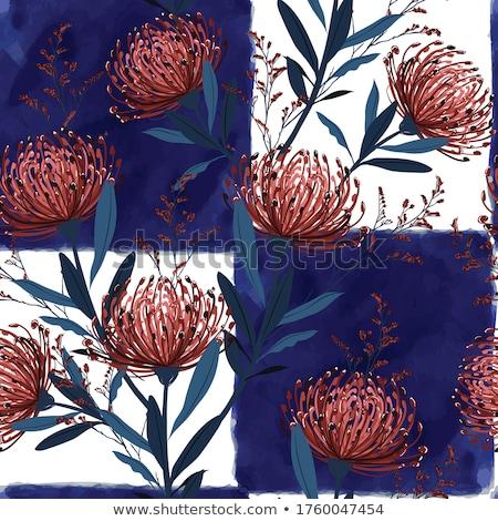акварель · окрашенный · вектора · цветочный · набор · цветы - Сток-фото © beaubelle