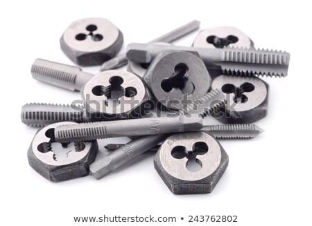 Szett szerszámok szerszám gyártmány férfi női Stock fotó © jarp17
