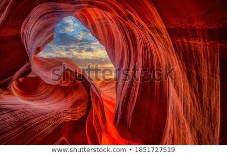 песчаник абстракция стен каньон США стены Сток-фото © pedrosala