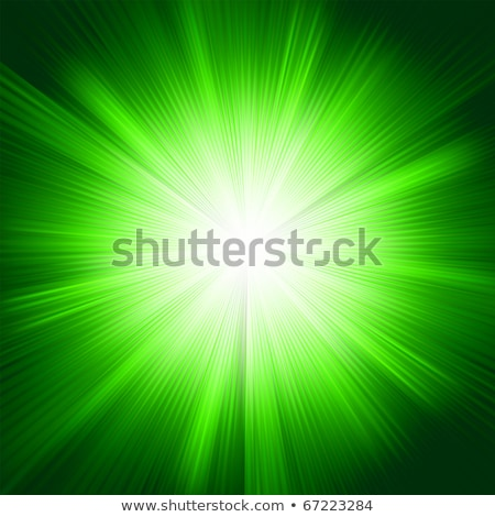 festive green abstract with stars eps 8 stock photo © beholdereye