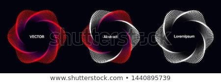 Red Spirals Stock photo © cosma