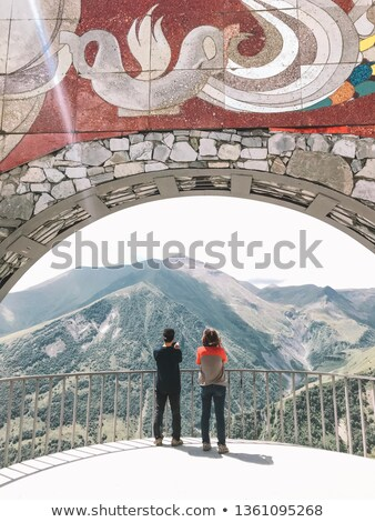 Mosaic of couples enjoying nature Stock photo © photography33