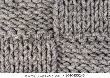 Pattern of woolen knitted fabric Stock photo © pzaxe