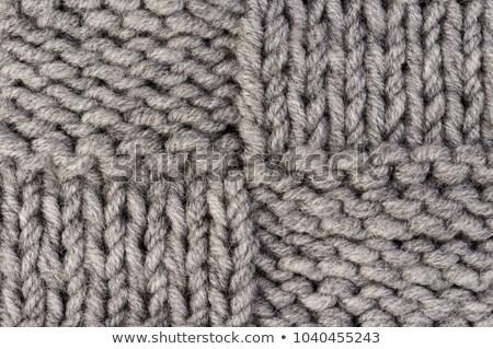 Modèle laine tricoté tissu jaune soft Photo stock © pzaxe