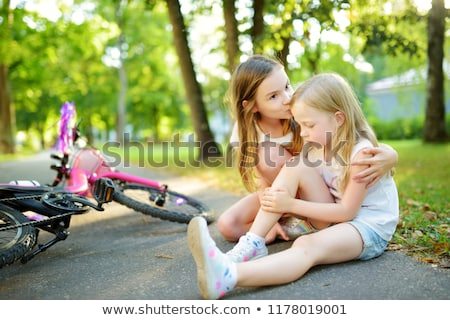 Wound child Stock photo © ia_64