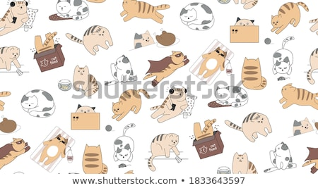 смешные мыши иллюстрация два области крыса Сток-фото © iconds