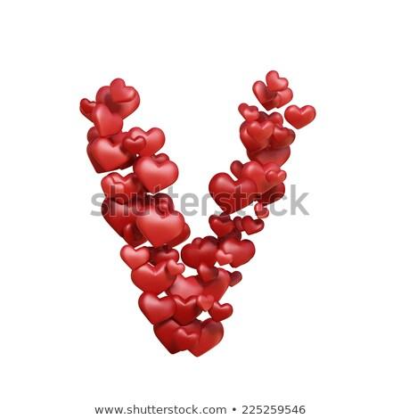 Kadife kalpler vektör soyut sevmek Stok fotoğraf © LittleLion