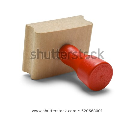 Paid -  Red Rubber Stamp. Stock photo © tashatuvango