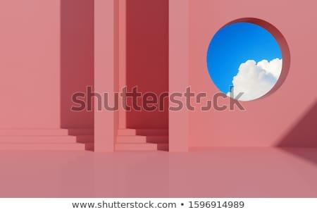 шаги · солнце · 3d · визуализации · серый · камней · землю - Сток-фото © elenarts