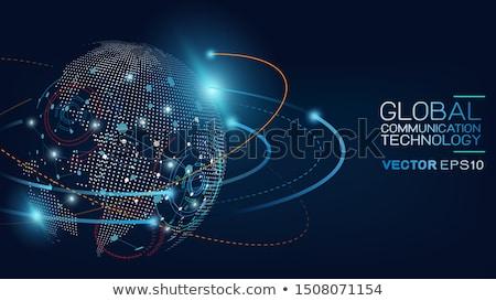computador · servidores · projeto · servidor · segurança · azul - foto stock © fenton