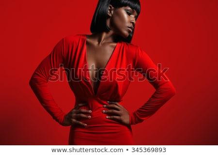 Stunning African American woman Stock photo © dash