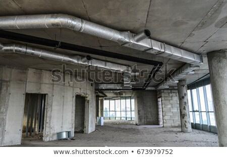 古い 産業 建物 柔軟 液体 ストックフォト © meinzahn