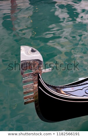 Detail of a gondola in Venice Stock photo © Hofmeester