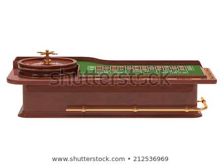 roulette table over white stock photo © idesign