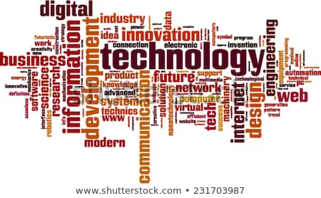 word cloud - web development Stock photo © master_art