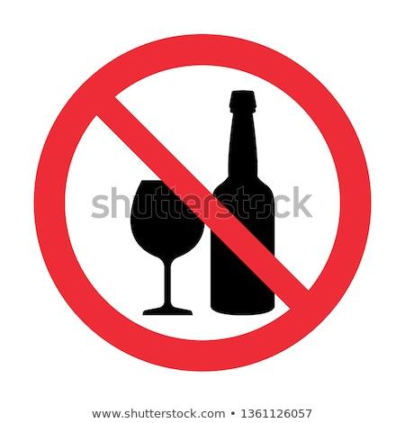não · beber · conduzir · estrada · segurança · tráfego - foto stock © lindwa