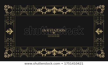 Vintage gouden kroonluchter muur licht home Stockfoto © art9858