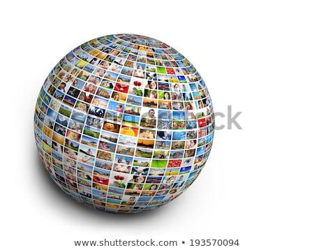 zdjęcie · świecie · odizolowany · Internetu · technologii · podróży - zdjęcia stock © photocreo