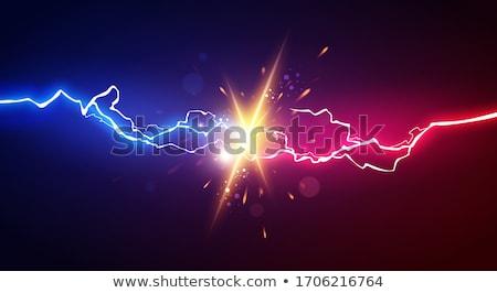 Konfrontacja dwóch mężczyzn człowiek muzyka osoby mężczyzna Zdjęcia stock © Supertrooper