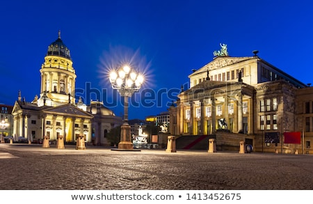 Concierto sala cuadrados Berlín Alemania edificio Foto stock © AndreyKr