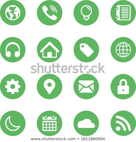 знак · зеленый · вектора · икона · дизайна · цифровой - Сток-фото © rizwanali3d