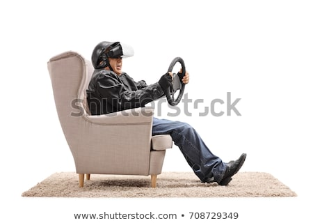 3d man on wheel chair concept Stock photo © nithin_abraham