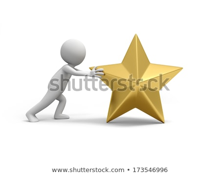 3d man with big award concept stock photo © nithin_abraham