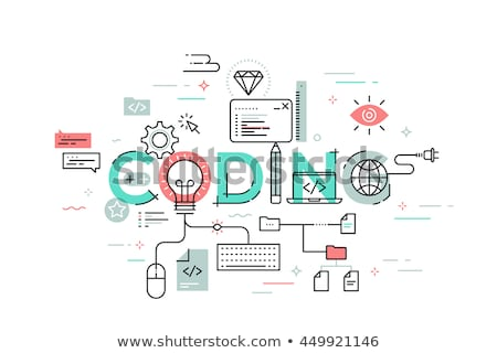 Ideas Concept with Word on Folder. Stock photo © tashatuvango