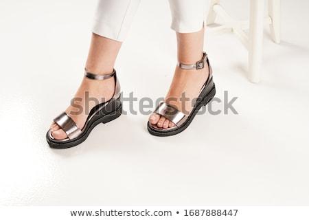 Isolated one beautiful  sandal  Stock photo © fuzzbones0