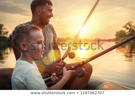 ボート · 白 · ヨット · 帆 · ラジオ · 技術 - ストックフォト © paha_l