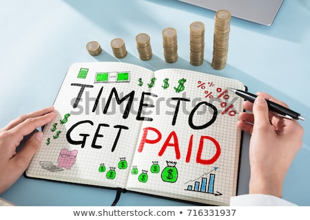 Time to Get Paid Stock photo © ivelin