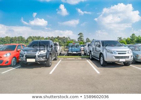 empty outdoors parking area  Stock photo © meinzahn