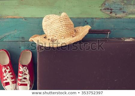 女性 スーツケース 準備 冬 休暇 少女 ストックフォト © Elnur