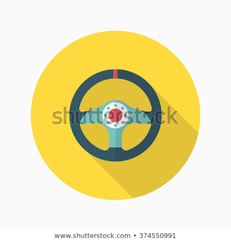safety rings icon flat design style vector illustration long stock photo © jabkitticha