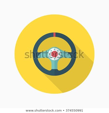Safety Rings icon , Flat design style, vector illustration. long Stock photo © jabkitticha