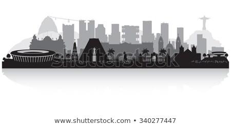 Corporativo arquitetura Rio de Janeiro urbano Brasil Foto stock © Spectral