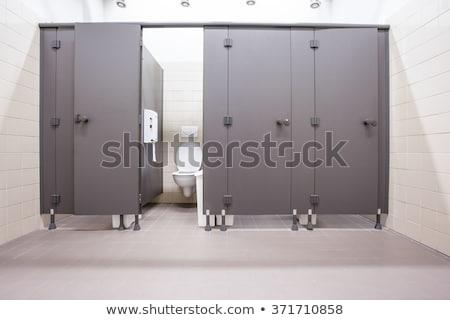 kamu · tuvalet · imzalamak · ahşap · 3D · dizayn - stok fotoğraf © ivonnewierink