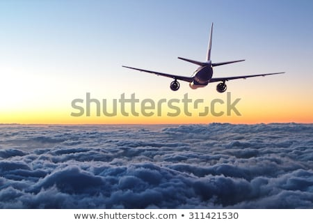 A flying plane Stock photo © bluering